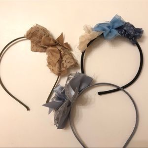 CLAIRE's | 3 headbands